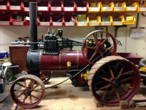 "2"" Durham & N Yorkshire traction engine"