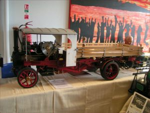 "3"" scale Foden steam wagon"