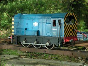 "Charlatan 5"" gauge shunter loco"