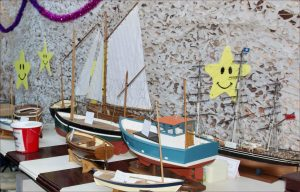 Model boat display