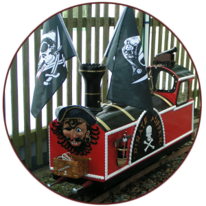 "Pirate Puffer 5"" electric loco"